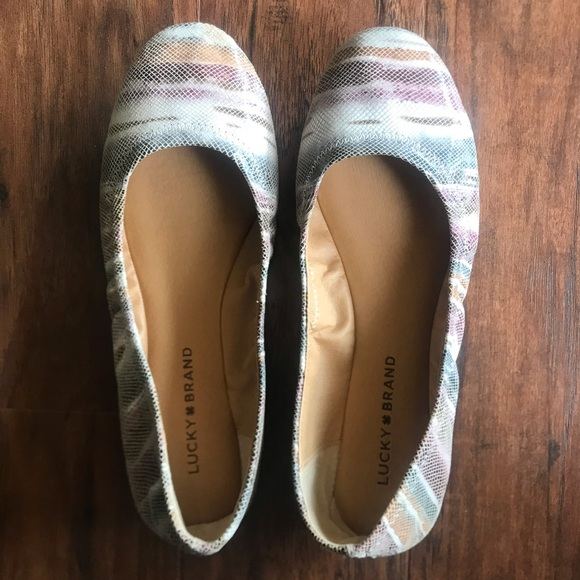 Lucky Brand Shoes - Luck Brand size 8 flats